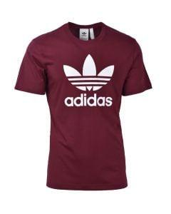 Shop adidas Originals Trefoil T-shirt Mens Victory Crimson White at Studio 88 Online