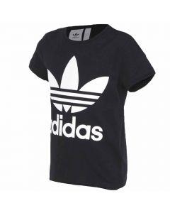 Shop adidas Originals Trefoil T-shirt Youth Black White at Studio 88 Online
