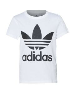 Shop adidas Originals Trrefoil T-shirt Youth White Black at Studio 88 Online