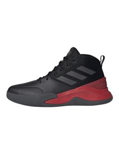 Shop adidas Performance OwnTheGame Mens Core Black Grey Six Scarlet at Studio 88 Online