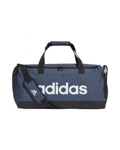 Shop adidas Performance Essentials Logo Duffel Bag Crew Navy Black White at Studio 88 Online