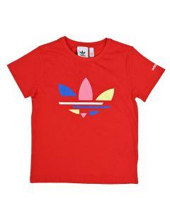Shop adidas Originals Bold T-shirt Kids Red at Studio 88 Online