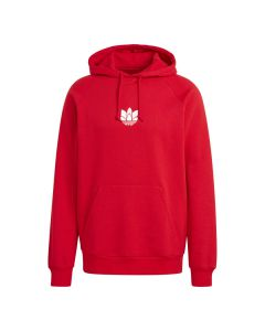 Shop adidas Originals 3D Trefoil Hoodie Mens Scarlet Red at Studio 88 Online