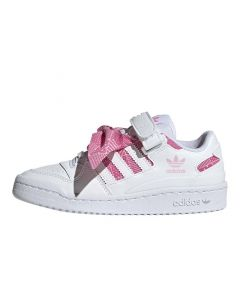 Shop adidas Originals Forum Lo Youth Sneaker White Pink at Studio 88 Online
