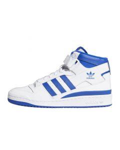 Shop adidas Originals Forum Mid Mens Cloud White Royal Blue at Studio 88 Online