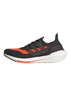 Shop adidas Performance Ultraboost 21 Mens Carbon Black Red at Studio 88 Online