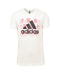 Shop adidas Performance ESPRT T-shirt Mens White Black at Studio 88 Online