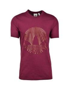 Shop adidas Originals Trefoil T-shirt Mens Victory Crimson at Studio 88 Online