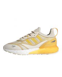Shop adidas Originals ZX 2K Boost 2.0 Womens Sneaker White Orange Solar Gold at Studio 88 Online