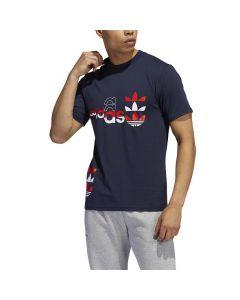 Shop adidas Originals Logo Play T-shirt Mens Legend Ink at Studio 88 Online