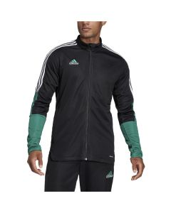 Shop adidas Performance Tiro Jacket Mens Black Sub Green at Studio 88 Online
