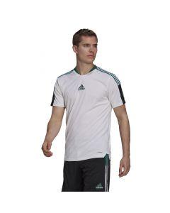 Shop adidas Performance Equipment Tiro T-shirt Mens White at Studio 88 Online