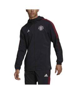 Shop adidas Performance Manchester United Tiro Presentation Jacket Mens Black at Studio 88 Online