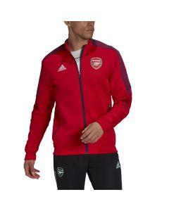 Shop adidas Performance Arsenal Tiro Anthem Jacket Mens Scarlet Red at Studio 88 Online