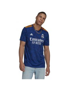 Shop adidas Performance Real Madrid 2020/2021 Away Replica Jersey Victory Blue at Studio 88 Online