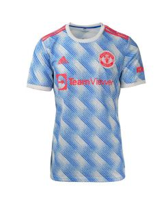 Shop adidas Performance Manchester United 21/22 Away Replica Jersey Mens Cloud White at Studio 88 Online
