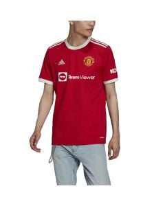 Shop adidas Performance Manchester United 2021/22 Home Replica Jersey Red at Studio 88 Online