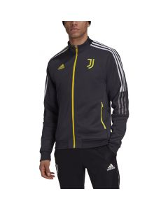 Shop adidas Performance Juventus Tiro Anthem Jacket Mens Carbon Grey at Studio 88 Online