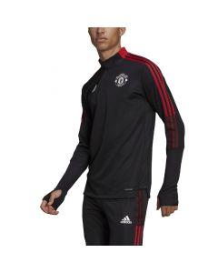 Shop adidas Performance Manchester United F.C Track Top Mens Black at Studio 88 Online