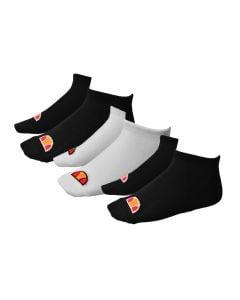 Shop ellesse Trainer Secret Socks 3 Pack Black White Black at Studio 88 Online