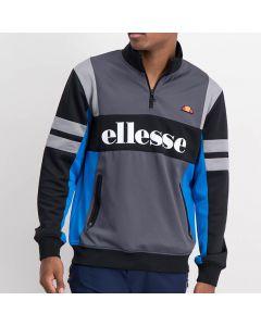 Shop ellesse Motorcross Track Top Mens Black Charcoal Alloy Blue at Studio 88 Online