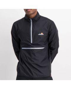 Shop ellesse Long Sleeve 3/4 Zip Sports Track Top Mens Black Charcoal at Studio 88 Online