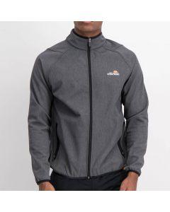 Shop ellesse Bonded Sport Track Top Mens Grey Black at Studio 88 Online