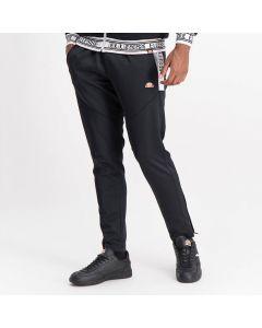 Shop ellesse Leg Panel Track Pants Mens Black Alloy at Studio 88 Online