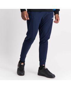 Shop ellesse Nylon Cuffed Track Pants Mens Dress Blue at Studio 88 Online
