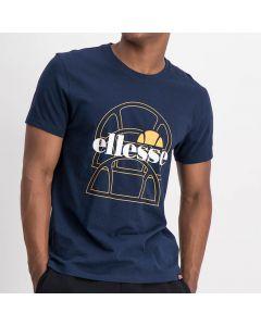Shop ellesse Laureano Mens T-shirt Dress Blue Yellow at Studio 88 Online