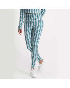 Shop ellesse Barbaea Womens Leggings White Green at Studio 88 Online