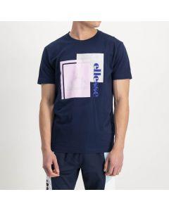 Shop ellesse Logo T-shirt Mens Dress Blue Grey Pink at Studio 88 Online