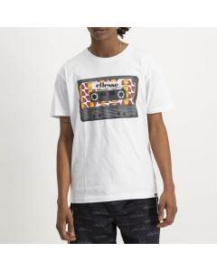 Shop ellesse Casette Player Logo T-shirt Mens White at Studio 88 Online