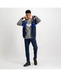 Shop ellesse Colourblock Tape Track Pants Mens Dress Blue Red White at Studio 88 Online