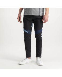 Shop ellesse Nylon Track Pants Mens Jet Black Dress Blue at Studio 88 Online