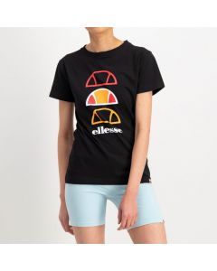 Shop ellesse Basic Fitted Graphic Falt Print T-shirt Mens Black at Studio 88 Online