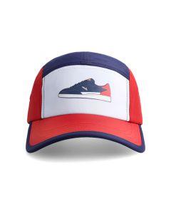 Shop ellese Logo Cap Dress Blue Scarlet at Studio 88 Online