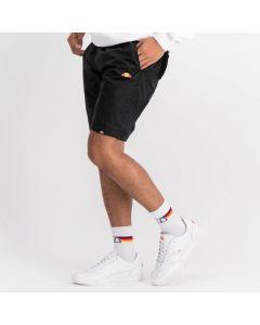 Shop ellesse Rubber Badge Basic Mens Shorts Black at Studio 88 Online
