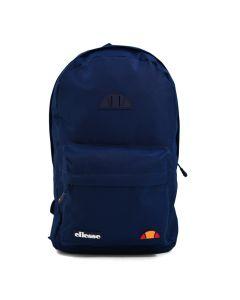 Shop ellesse Front Zip Pocket Rubber Badge Backpack Dress Blue at Studio 88 Online