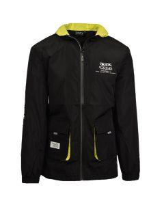 Shop Grey Wolf 3D Back Print Jacket Men Black at Studio 88 Online