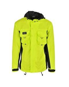 Shop Grey Wolf Utility Jacket Mens Fluro Green at Studio 88 Online