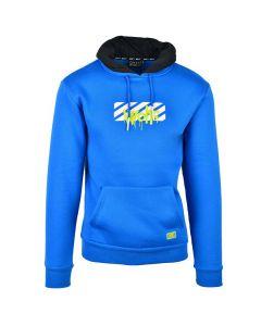 Shop Grey Wolf Graffiti Hoodie Men Derectoire Blue at Studio 88 Online