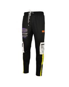 Shop Grey Wolf X 25K The Plug Tour Mesh Track Pants Men Black at Studio 88 Online