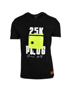 Shop Grey Wolf X 25K The Plug Pocket T-shirt Men Black at Studio 88 Online