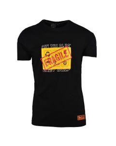 Shop Grey Wolf X 25K The Plug Fragile T-shirt Men Black at Studio 88 Online