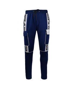 Shop Grey Wolf Bellow Pocket Track Pants Mens Medium Blue at Studio 88 Online