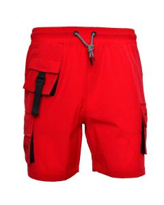 Shop Grey Wolf Minimal Project Shorts Mens Chinese Red at Studio 88 Online