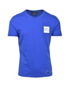 Shop Grey Wolf Print Option T-shirt Mens Turkish Sea at Studio 88 Online