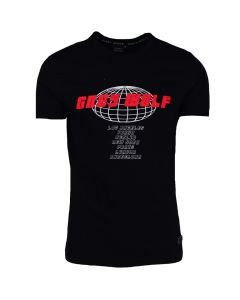 Shop Grey Wolf VIII T-shirt Mens Black at Studio 88 Online