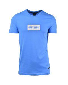 Shop Grey Wolf Core Option T-shirt Mens Provence Blue at Studio 88 Online